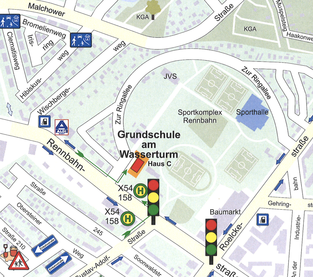 Karte Haus C